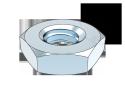 (DIN439-2 种类的)六角薄螺母